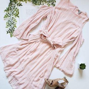 Size L cold shoulder dress